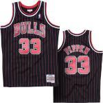 Scottie Pippen 33 Chicago Bulls 1995-96 Mitchell & Ness Swingman Alternate Trikot S