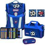 Scout Schulranzen-Set Sunny Premium 4-teilig football