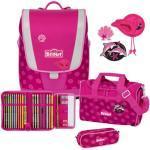 Scout Schulranzen Set Ultra 4-teilig Pink Daisy