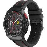 Scuderia Ferrari Uhr schwarz