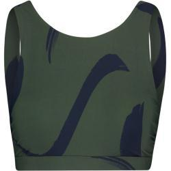 "Seafolly Damen Bikinioberteil ""New Wave High Neck Tank Top"", olive, Gr. 38"