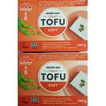 Seidentofu, Tofu Soft Firm Morinaga Grundzutaten Zutaten für zB. Hiyayakko 2 x 340g Sojabohnen-Zubereitung (verzehrfertig)