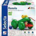 Selecta Kleinkindwelt Holz Rollspielzeug Ranolo Nachzieh Frosch 62033