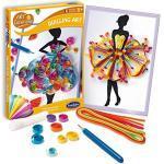 Sentosphere 2054 Art & Creations Quilling Art, Kreativset, Bastelset, DIY, Motiv: Kleid