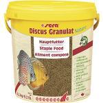 sera Discus Granulat Nature 10.000 ml (4,2 kg) - Hauptfutter für alle Diskusfische, Diskus Futter