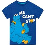 Blaue Sesamstraße Krümelmonster Kindermode für Jungen