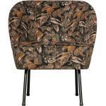 Sessel floral gemustert Samt