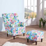 Sessel im Floral Design Bunt
