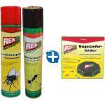 Set mit Köder, Ameisen- und Insektenspray Insektenvernichter vernichtet Insekten aller Art