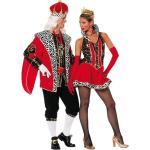 Sexy Queen Perdita Damenkostüm - rot/schwarz