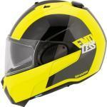 Gelbe SHARK Jet Helme