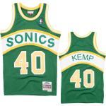 Shawn Kemp 40 Seattle Supersonics 1994-95 Mitchell & Ness Road Swingman Trikot L
