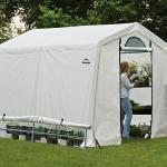 ShelterLogic Folien-Gewächshaus (Grundfläche: 5,76 m², Polyethylenfolie, Folienstärke: 160 g/m²)