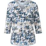 Shirt 3/4-Arm Rabe blau