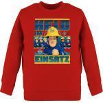 Shirtracer Sweatshirt »Held im Einsatz - Feuerwehrmann Sam Jungen - Kinder Premium Pullover«, 1 Rot