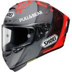 Shoei Helm X-Spirit III MM93 Black Concept 2.0, grau-rot-schwarz Größe XS