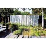 Graue Skandinavische Gartenzäune aus Fichte