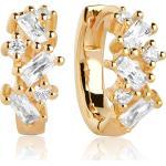 Sif Jakobs Jewellery Sif Jakobs Jewellery Damen-Creolen Antella Creolo Piccolo 925er Silber Zirkonia Silber Silber 32011892