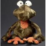 SIGIKID 39341 Kuscheltier Frosch Frog Doc, Beaststown