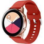 Silikonband für die Samsung Galaxy Watch 40/42mm / Active 2 42/44mm - Rot