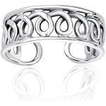 SILVEGO Zehenring aus 925 Sterling Silber Spirale
