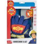 Simba 109252105 Feuerwehr Handschuhe und Axt Feuerwehrmann Sam