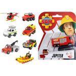 Simba Feuerwehrmann Sam Fahrzeuge sortiert 203091000