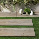 Sintesi Timber Tortora Terrassenplatte 30 x 120,8 cm