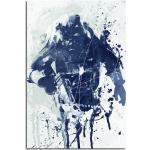 Sinus Art Leinwandbild »Fallout Game Art 90x60cm Aquarell Art Leinwandbild«