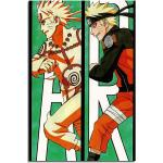 Sinus Art Leinwandbild »Naruto Evolution 90x60cm«