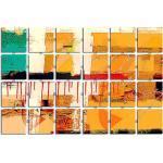 Sinus Art Leinwandbild »Zerflossene Brücke, Leoni Arta 150«, 24 teilig 200x130cm