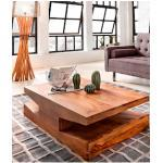 SIT Couchtisch GOA, mit 2 Ablagefächern braun Couchtische eckig Tische
