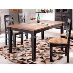 SIT Esstisch Corsica, in 2 Größen, Shabby Chic, Vintage schwarz Esstische Tische Möbel sofort lieferbar