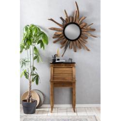 SIT Sekretär Seadrift, recyceltes Teak-Altholz, Breite 55 cm, Shabby Chic, Vintage beige Sekretäre Bürotische und Schreibtische Büromöbel