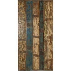 Bunte Shabby Chic SIT Möbel Esstische & Esszimmertische aus Recyclingholz Breite 150-200cm, Höhe 150-200cm, Tiefe 150-200cm