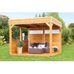 Skandinavische Skan Holz Toulouse Pavillons aus Fichte