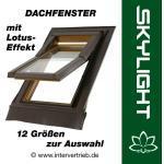 Skylight Lotus Dachfenster Dachflächenfenster incl. Eindeckrahmen - mit Lotus-Effekt