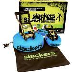 Slackers Slackline mit Halteseil, blau
