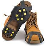 Slidefix Schuhspikes Anti Rutschgefahr. Hilft bei Schnee & Eis. Ideale Lösung im Winter und sorgt für sicheres Laufen, Wandern oder sorgenfreie Spaziergänge im Schnee und auf Eis. Universal Gr. 31-35.
