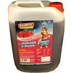 Slimpie Limonade Siroop Framboos 5l Kanister (Getränke-Sirup Himbeere, Zuckerfrei)