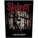 Slipknot Rückenaufnäher - The Grey Chapter Backpatch(BP988)