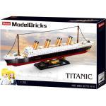 SLUBAN Titanic - Mittlerer Bausatz (481 Teile) Klemmbausteine, Mehrfarbig