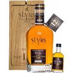 Slyrs 12 Jahre Whisky 0,7L + 5cl im Eichenholzblock 2004/2016