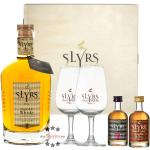 Slyrs Geschenkset: Bavarian Single Malt + 51 Whisky + Liqueur mit 2 Slyrs-Gläsern