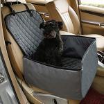 SM&M Autositz Hund/Hundesitz Auto-Schutz Hundekorb Für Rückbank Transporttasche Wasserfest Sicherer Transport Für Katze Hunde