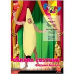 Smiffys Unisex Bananen Kostüm, Jumpsuit, Größe: One Size, 30468