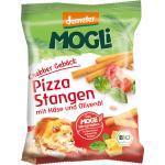 Snack Knabber Gebäck Pizza Stangen mit Käse und Olivenöl MOGLi (75 g)