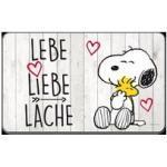 Snoopy Brettchen 'Lebe, Liebe, Lache'