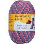 Sockenwolle Regia Cotton Tutti Frutti Color, 4-fädig von Schachenmayr, Grapes Color