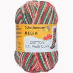 Sockenwolle Regia Cotton Tutti Frutti Color, 4-fädig von Schachenmayr, Watermelon Color